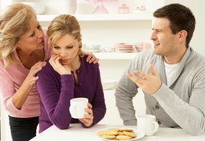 In-laws interfering in your marriage